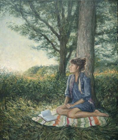 Dustin Neece, 'Girl Sitting', ca. 2000