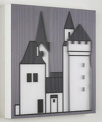 Julian Opie, 'Medieval Village 2', 2019