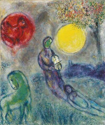 Marc Chagall, 'Le Violoniste sous la Lune', 1975