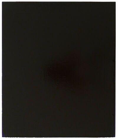 Joseph Marioni, 'Black Painting', 2003