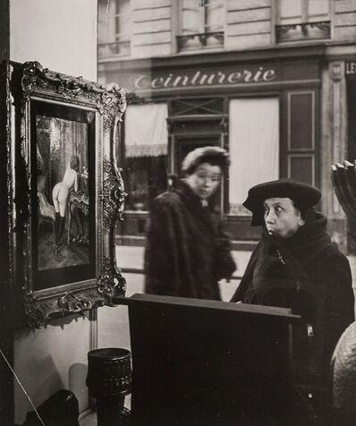 Robert Doisneau, 'Vitrine, Romi Galerie, Paris', 1948