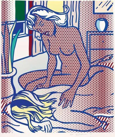 Roy Lichtenstein, 'Title Two Nudes (C. 285), State 1 ', 1994