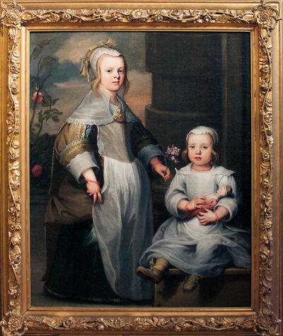 Nicolaes van Helt, called Stockade, 'A pair of unknown Dutch siblings', ca. 1650