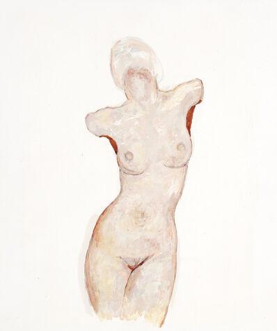 Alfred Czerny, 'Stehender Akt (Standing Nude)', ca. 1990