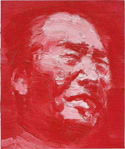 Yan Pei-Ming, 'Mao. Chinese Vermilion #4', 2001