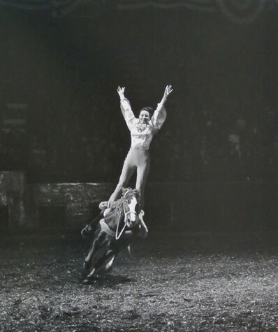 Harold Eugene Edgerton, 'Rodeo (Cowgirl)', ca. 1940