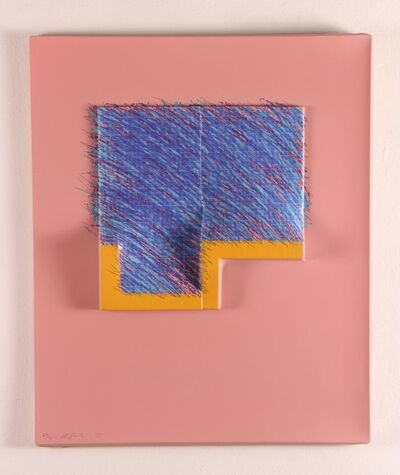 Richard Smith, 'SEVEN from LOGO SUITE (PINK BLUE)', 1971