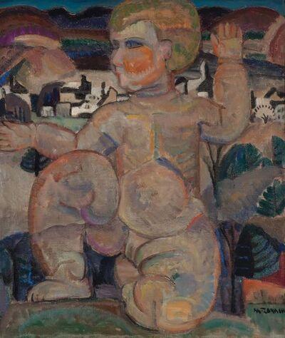Marguerite Thompson Zorach, 'Baby Girl (The Awakening)', circa 1915