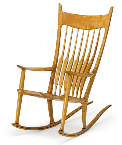 Sam Maloof, 'Fine rocking chair (no. 30), Alta Loma, CA', 1986