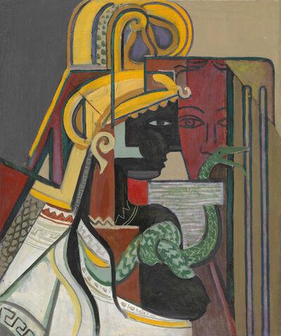 Georges Folmer, 'Profil et masque', ca. 1928