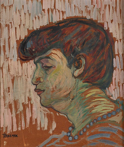 Axel Törneman, 'Woman in Profile', ca. 1910
