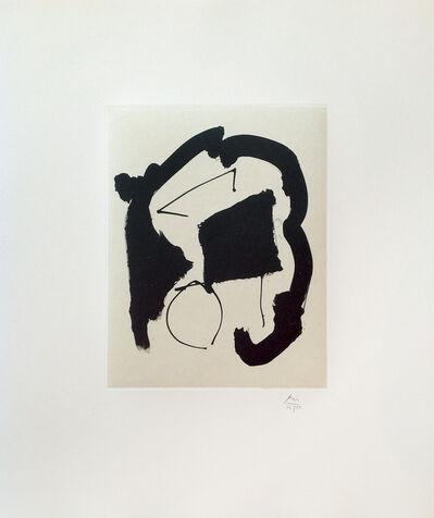 Robert Motherwell, 'Octavio Paz Suite: Untitled', 1988