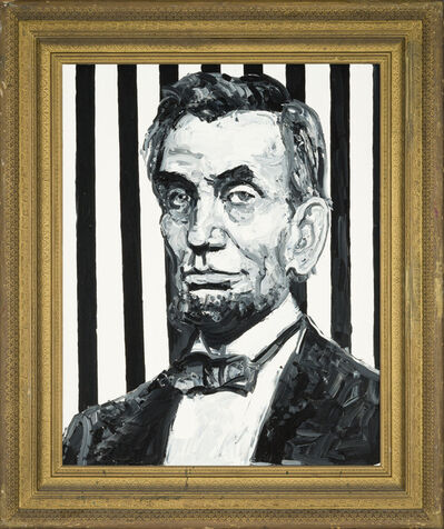 Hunt Slonem, 'President Abraham Lincoln', ca. 2019