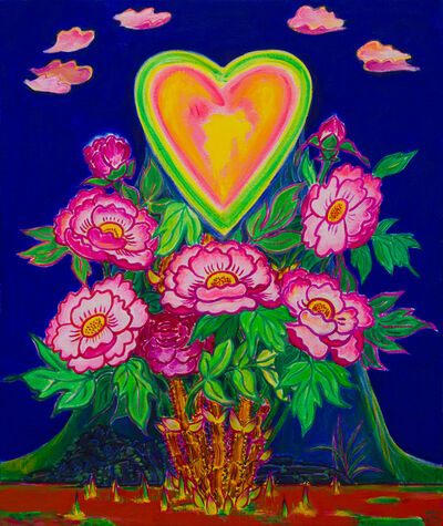 Kim Yongchul, 'Heart blossomed with the Peony Blossom', 2013