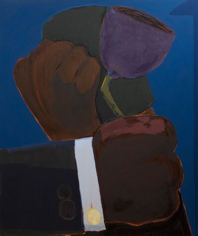 Enrico Riley, 'Untitled: Condolences, Crying Man, The Promise of Land', 2018