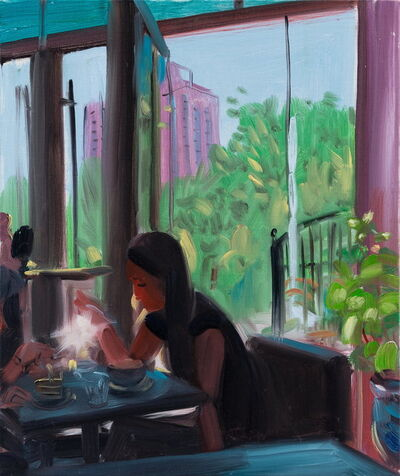 Zhang Jian 章剑, 'café 咖啡厅', 2018