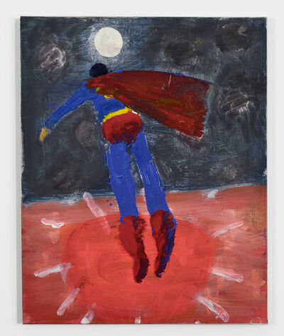 Katherine Bradford, 'Superman to Moon', 2015