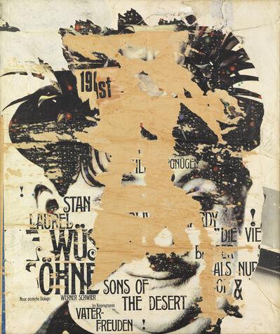 Reinhold Koehler, 'Plakat-Décollage 'Stan'', 1965