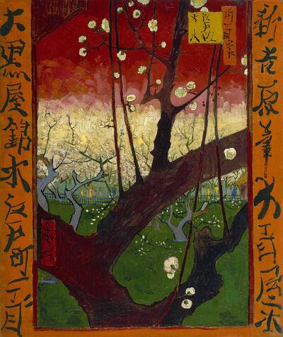 Vincent van Gogh, 'Japonaiserie: Flowering Plum Tree', 1887