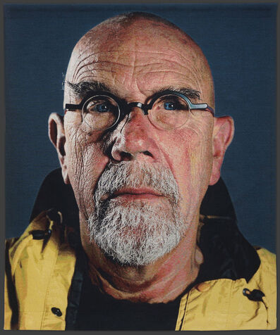 Chuck Close, 'Self-Portrait (Yellow Raincoat)', 2013