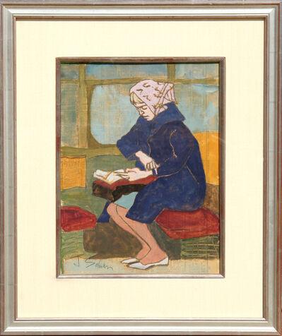 Joseph Solman, 'Reading Lady - II', ca. 1965