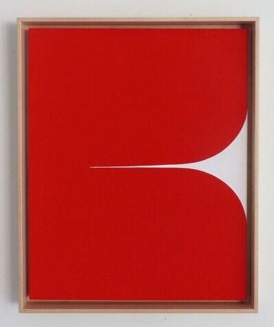 Sara Genn, 'New Alphabet (Cadmium)', 2019