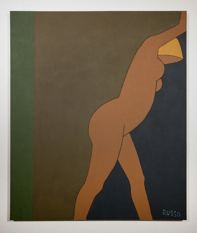 Michele Russo, 'Untitled (Leaning Blonde Nude)', ND