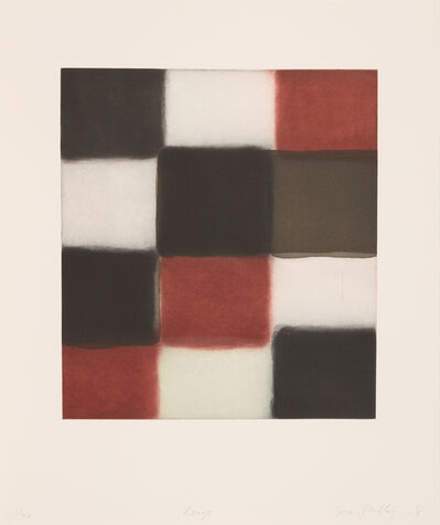 Sean Scully, 'Rouge', 2018