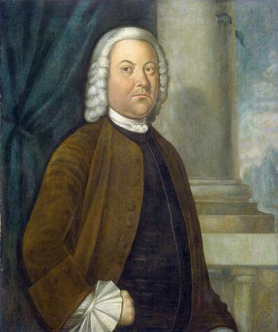 Benjamin West, 'Dr. Samuel Boude', 1755/1756
