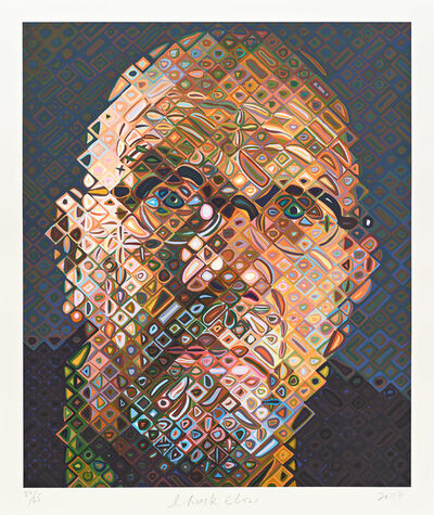 Chuck Close, 'Self-Portrait', 2017