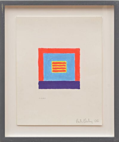 Peter Halley, 'Untitled Acrylic on Paper ', 2006