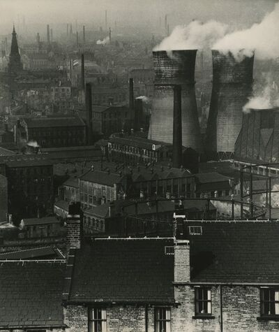 Bill Brandt, 'Halifax Chimneys'