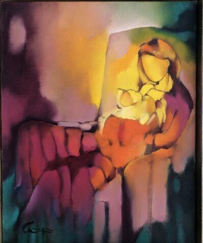 Amaya Salazar, 'Sitting mother and child', 2018