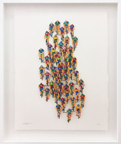 David Gerstein, 'Tour de France (vertical)', 2007