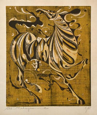 Nakayama Tadashi, 'Neighing in the Daytime', 1966