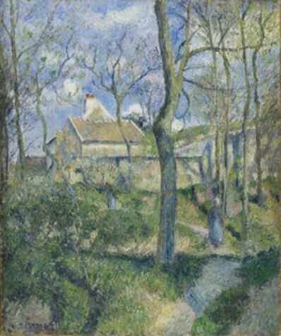 Camille Pissarro, 'The Path to Les Pouilleux, Pontoise', 1881