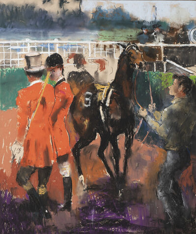 Randall Davey, 'Race Track ', ca. 1930s