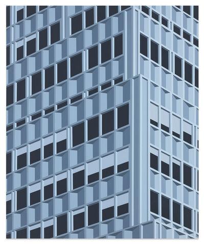 Daniel Rich, '99 Park Ave (Blue) ', 2020