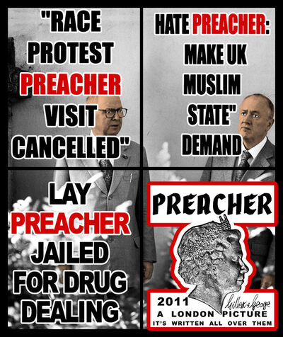 Gilbert and George, 'Preacher', 2011