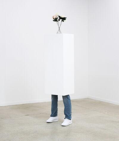 Mark Jenkins, 'Plinth with Vase', 2019