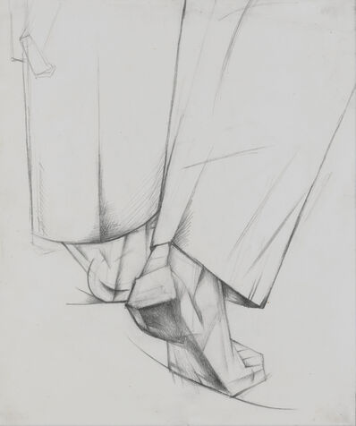 Alexander Bogomazov, 'Back of the Legs',  1928