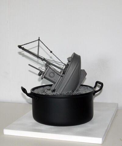 Manuel Barbero, 'El Hundimiento ', 2019