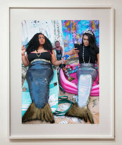 Destiny Deacon, 'Two fishes out of water', 2017