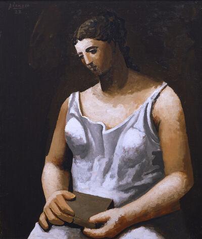 Pablo Picasso, 'Femme en Blanc', 1922