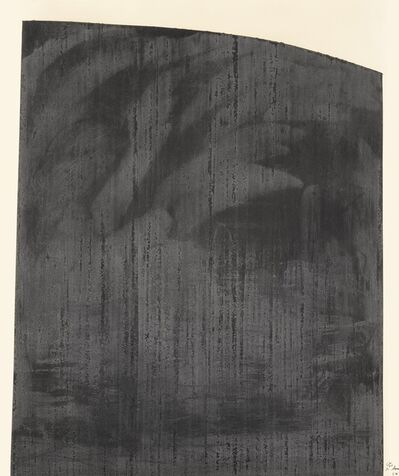 Richard Serra, 'Patience (Berswordt-Wallrabe 32)', 1984