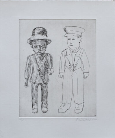 Claudette Schreuders, 'Untitled (Colons Two Males)', 2001
