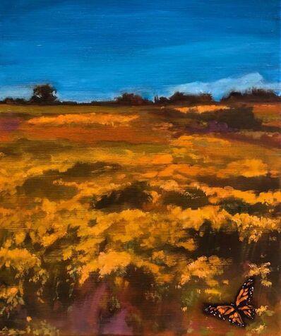 Rebcecca McGuire Jacob, 'Yellow Field', 2020