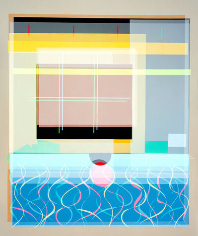 Niko Luoma, 'Self-titled Adaptation of Peter Getting Out of Nick's Pool (After David Hockney 1966), Version I', 2018
