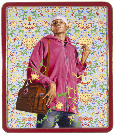 Kehinde Wiley, 'Support the Rural Population and Serve 500 Million Peasants', 2007