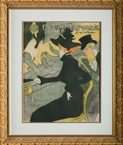 Henri de Toulouse-Lautrec, 'Divan Japonais (Japanese Couch)', ca. 1893